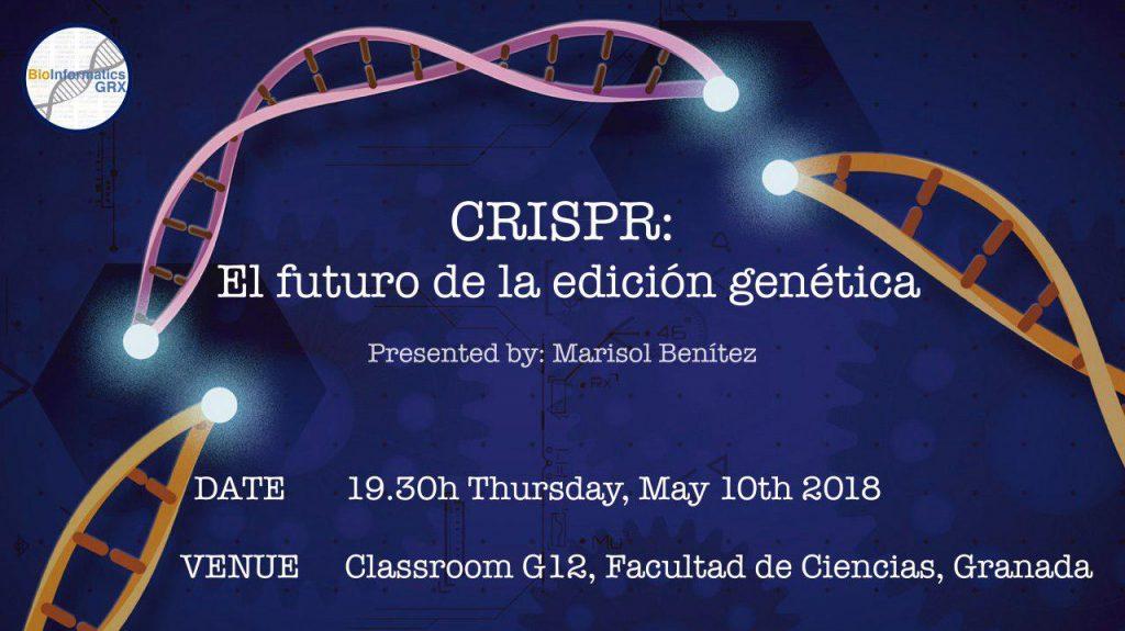 Cartel CRISPR Futuro Edicion Genetica