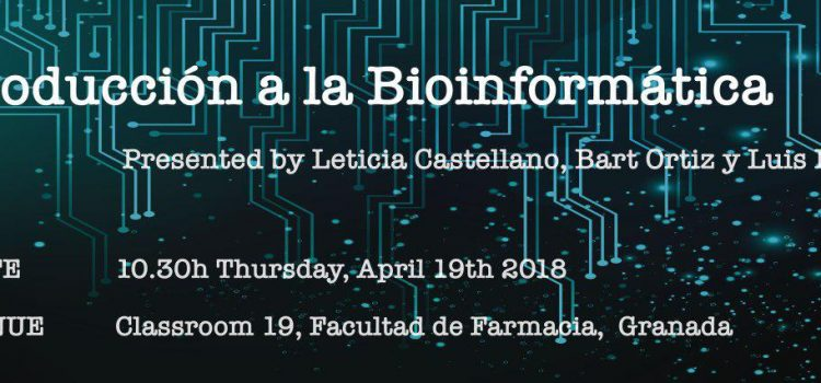 Cartel Introduccion Bioinformatica