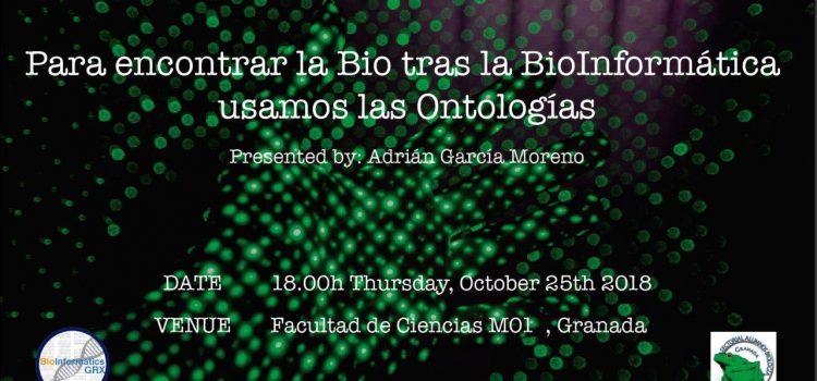 Para encontrar la Bio tras la bioinformática utilizamos las Ontologías
