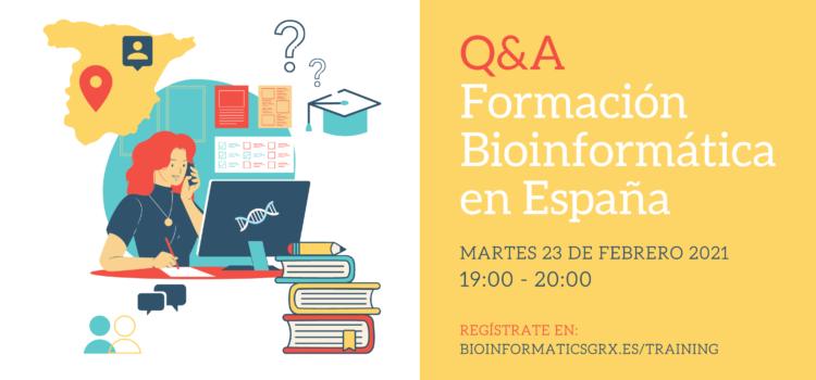 Q&A Formación y perspectivas profesionales en Bioinformática en España
